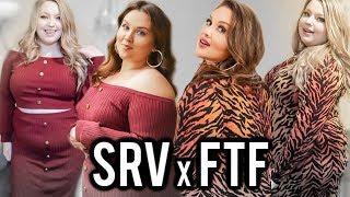 FASHION TO FIGURE SARAH RAE VARGAS TRY ON! #SRVxFTF | PLUS SIZE FASHION