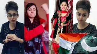 Cute Girls TikTok | Indian VS Pakistani Girls Comedy TikTok No1 Best TikTok Funny TikTok Video Clips