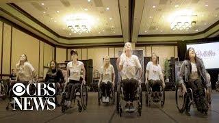 Dance team comprised of women in wheelchairs inspires young girls