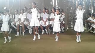 Small girls dance program... Assam