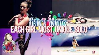 Dance Moms - Each Girl Most Unique Solo!