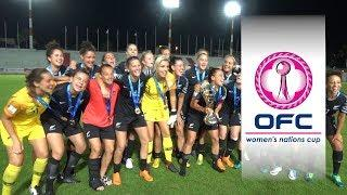 2018 OFC WOMEN'S NATIONS CUP | FINAL HIGHLIGHTS | Fiji v New Zealand