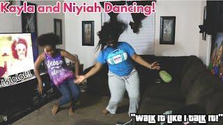 Girls Dancing to Drake, Migos, Ella mai (Exercising/Having Fun)