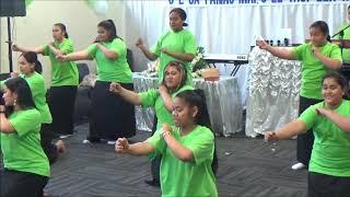 Life Healing Church Mangere White Sunday 2018 - Youth girls dance