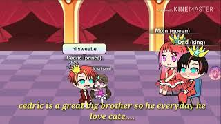 The girl fall in love to the prince /gacha verse (part1)