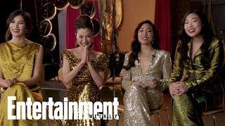 The Women Of Crazy Rich Asians's Entertainers Of The Year Acceptance Speech | Entertainment Weekly
