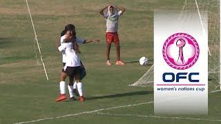 2018 OFC WOMEN'S NATIONS CUP QUALIFIER | Vanuatu v Fiji Highlights