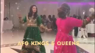Beautiful Afghan girls dance