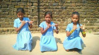 Dunguripali school girls || sambalpuri dance video || new 2018