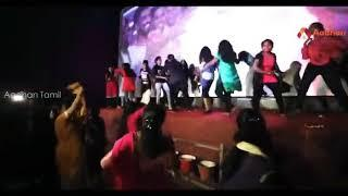 Viswasam movie girls dance for adchi thooku