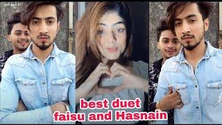 Mr faisu & Hasnain Khan | new musically video | Best Duet | with Girls letest Tik Tok videos