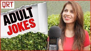 Girlfriend's Mom Sends NON VEG JOKES | Do Girls Check Out Guys ? Hindi Comedy | Quick Reaction Team