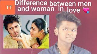#Men #woman #love  Difference between Man and woman in love | Tamil |Thanishthangavel |TT