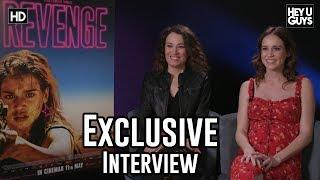 Matilda Lutz & Coralie Fargeat on women fighting back in Revenge - Exclusive Interview