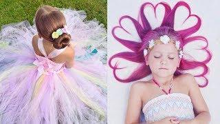12 Cute Kids Hairstyles For Girls ❀ Amazing Hairstyles Tutorial Compilation