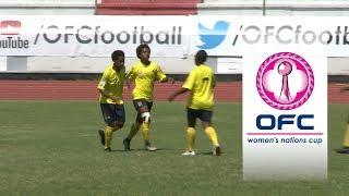 2018 OFC WOMEN'S NATIONS CUP | THIRD PLACE PLAY-OFF HIGHLIGHTS | Papua New Guinea v New Caledonia