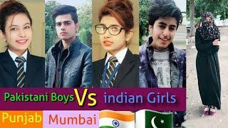 ???? Pakistani Boys VS Indian Girls ???? Videos | Punjab college Vs Mumbai College 2019 - HD center