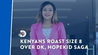 DK Kwenye Beat, Hopekid: Kenyans roast Size 8 for allegedly siding with musicians and not victim