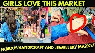 GIRLS LOVE THIS MARKET | Quality Handicrafts ,earrings,Bangles,necklace - Jewellery products