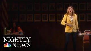 How One Woman's Love Of The U.S. Constitution Turned Into A Tony Nomination | NBC Nightly News