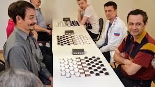 Zelenograd 2019. Draughts Deaf Russia Ch. (Men & Women). Photo-video film 8