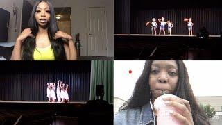 VLOG | TRYING STARBUCKS PINK DRINK FOR THE FIRST TIME , PROM GIRLS , DANCE SHOW + MORE
