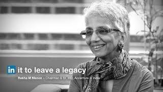 Rekha Menon | Women at Work