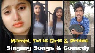 Twins Girls , Mampi Yadav & prince kumar new Comedy vigo videos