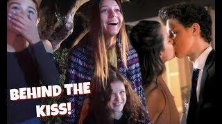 Behind The Scenes of Annie LeBlanc & Hayden's KISSING Scene | Chicken Girls: The Movie