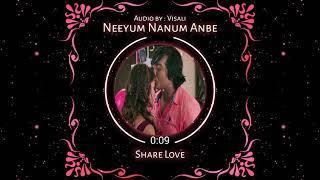 Neeyum Nanum anbe ( female Version ) || girls love WhatsApp status Tamil || imaikanodigal|| visali