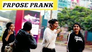 "PROPOSE CUTE GiRLS With  TWIST "" I love you prank "" 