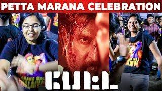 Girls Crazy Dance! PETTA FDFS Celebration | Rajinikanth | Karthik Subbaraj