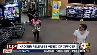 Kroger releases video of officer stunning girl with Taser