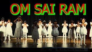 OM SAI RAM CUTE GIRLS DANCE | AAGAZ 2018 | Heart Touching Performance