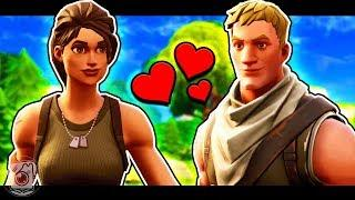 DEFAULT SKIN FALLS IN LOVE - A Fortnite Short Film