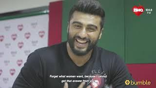 Arjun Kapoor on Bebology | Dabur Amla What Women Want | 104.8 Ishq