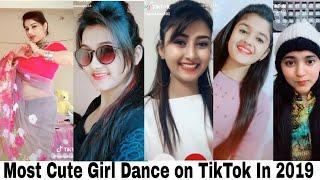 Most popular Cute Girls Dance On TikTok|TikTok Best Cute GirL 2019