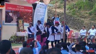 Beautiful Girl A Beautiful Dance||Paurikhal School Girls Garhwali Dance Performance 2018