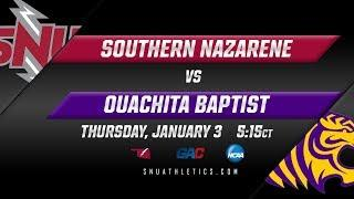 SNU Women's Basketball vs. Ouachita Baptist