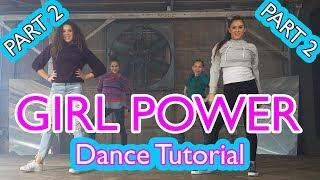 Haschak Sisters - Girl Power | Dance Tutorial (Part 2)