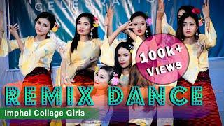 Remix Dance By Imphal College Girls