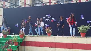 Girls dance of sacred heart school