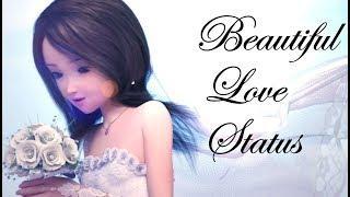Beautiful Girl WatsApp Status Love Song Animated 2018
