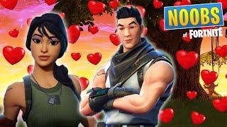 NOOBS LOVE STORY (Noob Saves A Girls Life) * SEASON 5 NEW SKIN*Fortnite Short Film