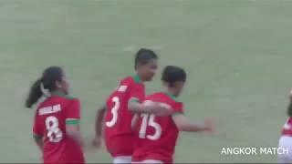 INDONESIA vs PHILIPPINES 3-3 - HIGHLIGHTS - U19 AFF WOMEN - 2018