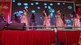 #dhandhana_dhanare //Apoorva degree College girls dance //