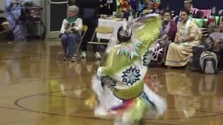 65th Annual PowWow of AIC Chicago - Tiny Tots and Girls Dancing