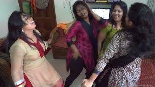 হোস্টেলের মেয়েদের মাথা নষ্ট  করা ডেন্স। - College Girls Dance in a Hostel Room.
