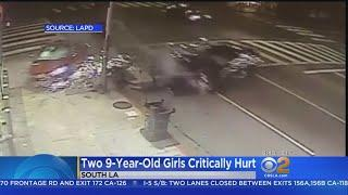 New Video Emerges Of Street Race That Critically Injured 2 Girls In South LA