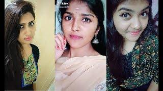tik tok tamil dubsmash girls video // cute tamil girl || on tik tok || musically#25